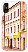 Colorful Town Homes IPhone Case