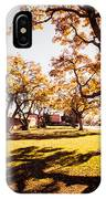 Colorful Trees Of Long Beach In The Autumn IPhone Case