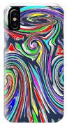 Colorful Twirl Wave Shield Design Background Designs  And Color Tones N Color Shades Available For D IPhone Case