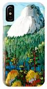 Colorful View Of Idyllwild California IPhone Case