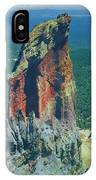 105830-colorful Volcanic Plug IPhone Case