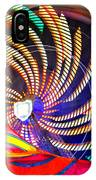 Colorful Wheel Of Lights IPhone Case