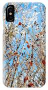 Colorful Winter Wonderland IPhone Case