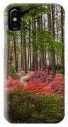 Colorful Woodland Azalea Garden IPhone Case