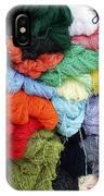 Colorful Yarn Otavalo Market Ecuador IPhone Case