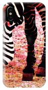 Colorful Zebra - Buy Black And White Stripes Art IPhone Case
