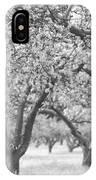 Colorless Cherry Blossoms IPhone Case