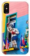 Colors And Statues IPhone Case