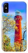 Colors At Barnegat Light IPhone Case