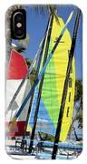 Key West Sail Colors IPhone Case