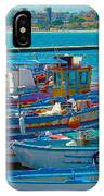 Colors Of A Fishing Fleet IPhone Case