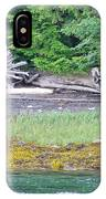 Colors Of Alaska - Layers Of Greens IPhone Case