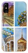 Colors Of Russia Church Of Our Savior On The Spilled Blood  IPhone Case