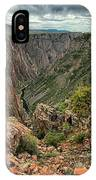 Colors Of The Black Canyon IPhone Case