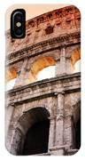 Colosseum Italy IPhone Case