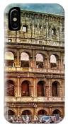 Colosseum Rome IPhone Case