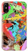 Coloured Leaves By M.l.d. Moerings  2009 IPhone Case