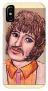 Coloured Pencil Portrait IPhone Case