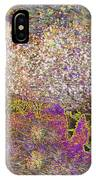 Colourful Almond Trees IPhone Case