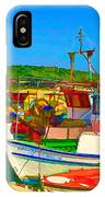 Colourful Boats IPhone Case