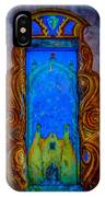 Colourful Doorway Art On Adobe House IPhone Case