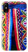 Colourful Fabric Art IPhone Case