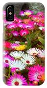 Colourful Flowers IPhone Case