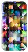 Colourful Fractal Jewels IPhone Case