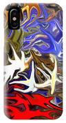 Colours Melting 3 IPhone Case