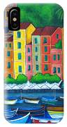Colours Of Portofino IPhone Case
