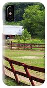 Colts On A Farm IPhone Case