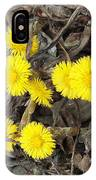 Coltsfoot IPhone Case