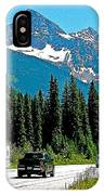 Columbia Mountains In Glacier Np-british Columbia IPhone Case