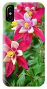 Columbine Flower IPhone Case