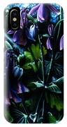 Columbine In The Woods IPhone X Case
