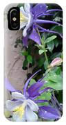 Columbines Exquisite Blooms IPhone Case