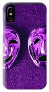Comedy And Tragedy Masks 2 IPhone Case