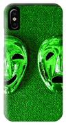 Comedy And Tragedy Masks 3 IPhone Case