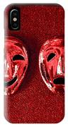 Comedy And Tragedy Masks 4 IPhone Case