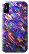 Comet Of Colour IPhone Case