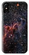 Cometary Globules In Vela And Puppis IPhone Case