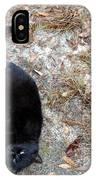 Comfortable Cat IPhone Case