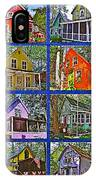 Coming Home Photo Assemblage In Asbury Grove In South Hamilton-massachusetts IPhone Case