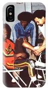 Coming To The Sad End Of A Long Career In The Old School Roller Derby  IPhone Case