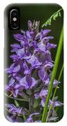 Common Spotted Orchid IPhone Case