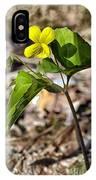 Common Yellow Violet IPhone Case