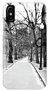 Commons Park Pathway IPhone Case