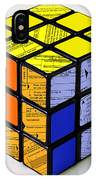 Complexity Of Income Tax Return IPhone Case