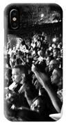 Concert Crowd IPhone Case