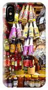 Condiments At Mercade Municipal IPhone Case